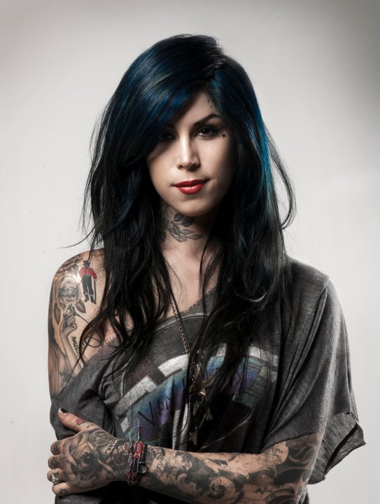 Kat von d s tattoo parlor catches fire san francisco news for How to get tattooed by kat von d