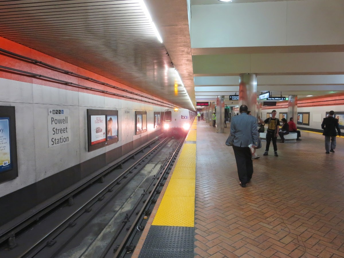Powell Station BART, San Francisco The San Francisco News