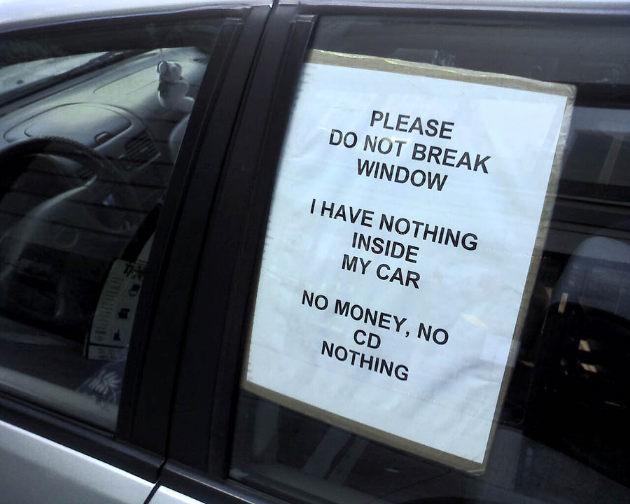 car break ins are on the rise in sf