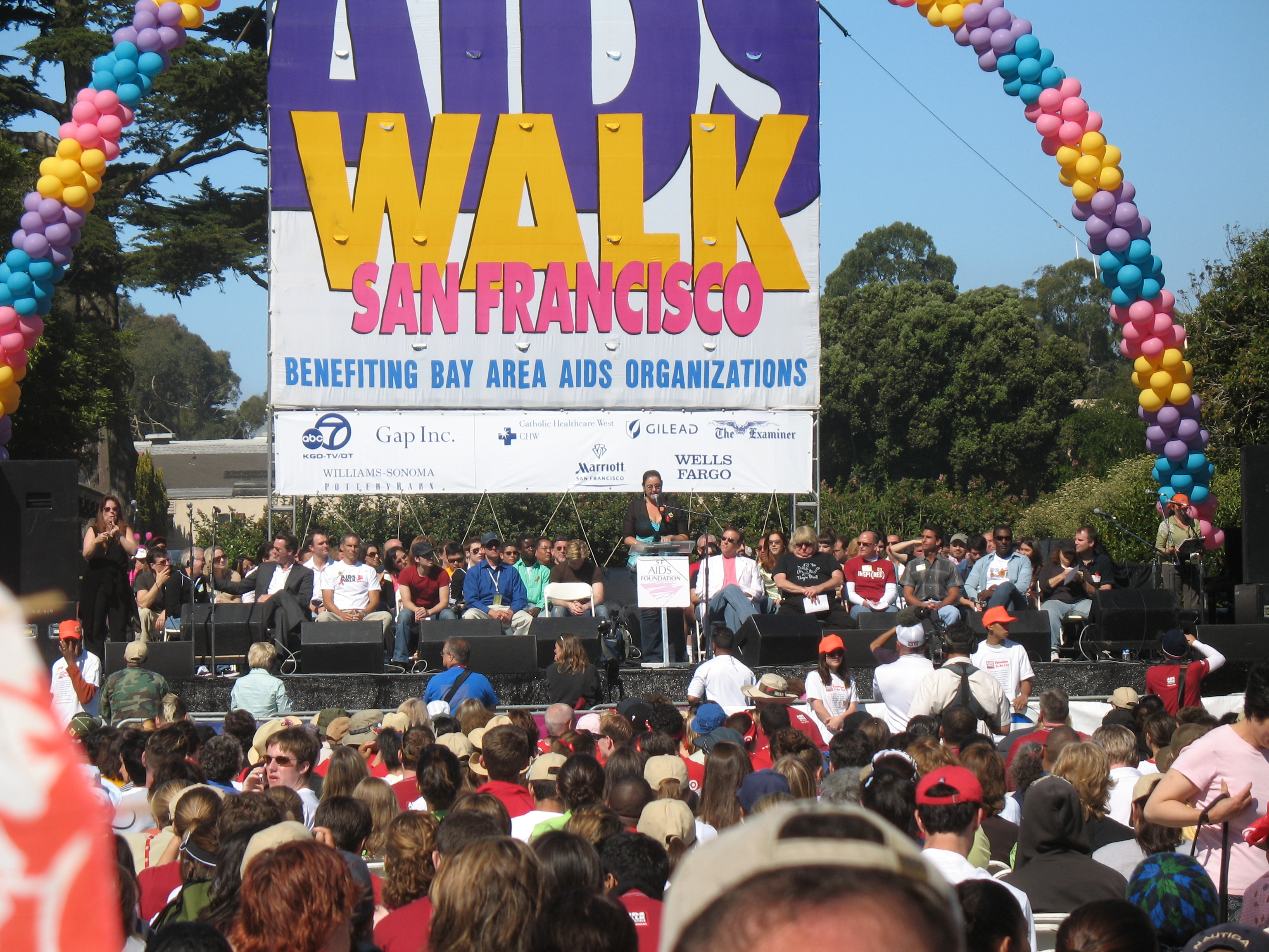 The 29th annual AIDS Walk San Francisco takes place this Sunday, July 18, at Golden Gate Park.