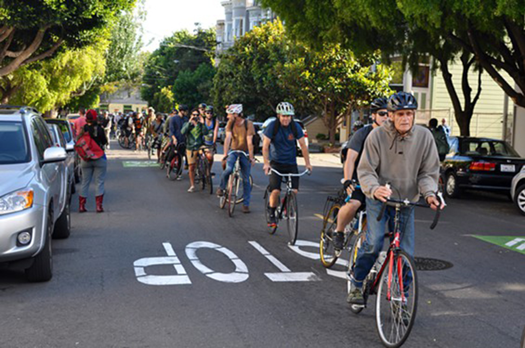 """The Wigg Party held a protest called the """"Wiggle Stop-In"""" The San Francisco News"""