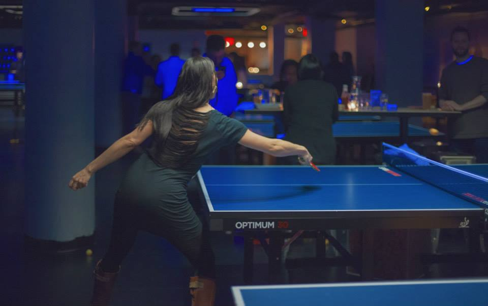 SPiN, Susan Sarandon's unique chain of ping-pong bars, will be opening its sixth location in San Francisco in the winter of 2015. Photo from Facebook.