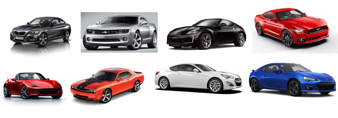 Top five performance cars for the budget conscious