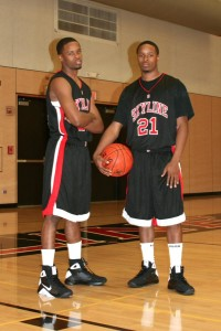 The two brothers played backetball at both Wallenburg High School and Skyline College.