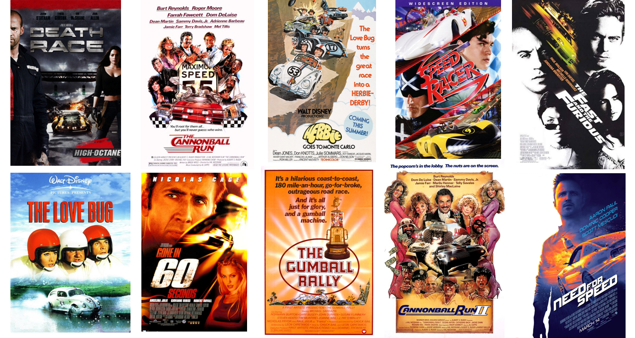 Movies about Cars