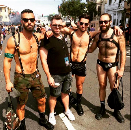 Folsom gay parade