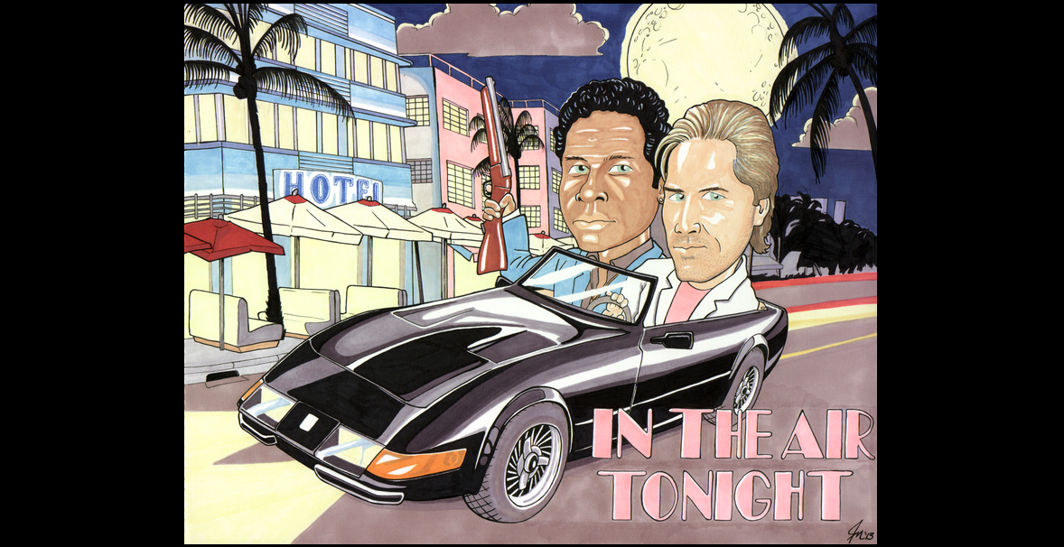 In The Air Tonight, Miami Vice