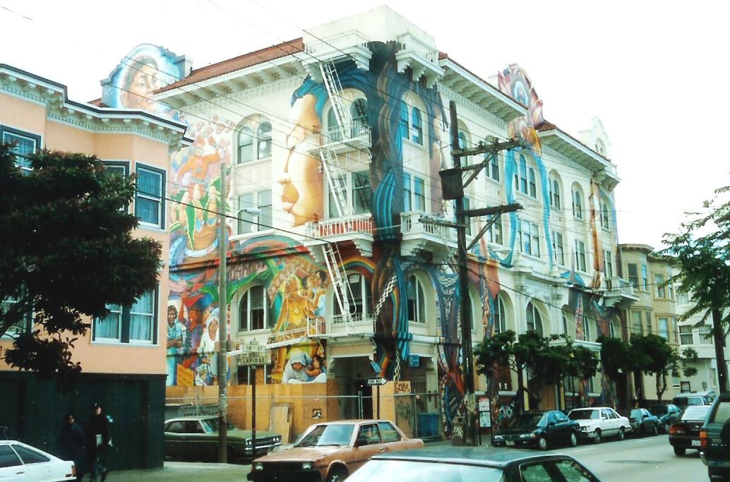 Painting Outside Houses San Francisco