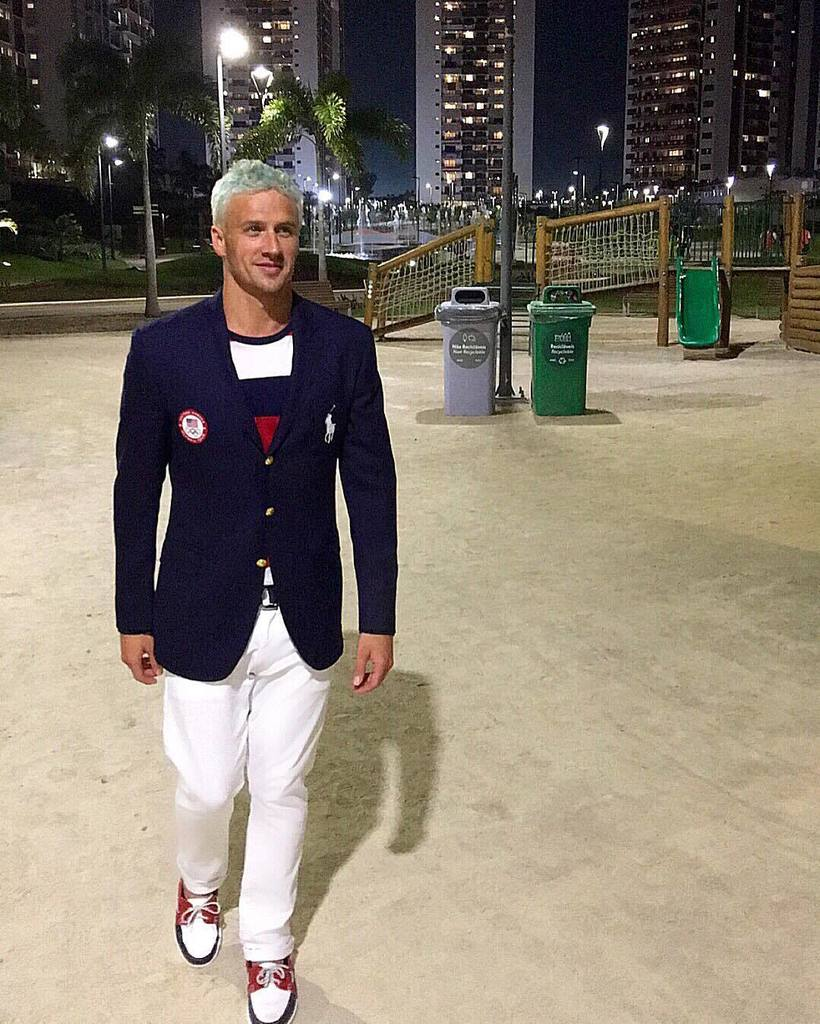 Ryan Lochte dives in to 'DWTS'