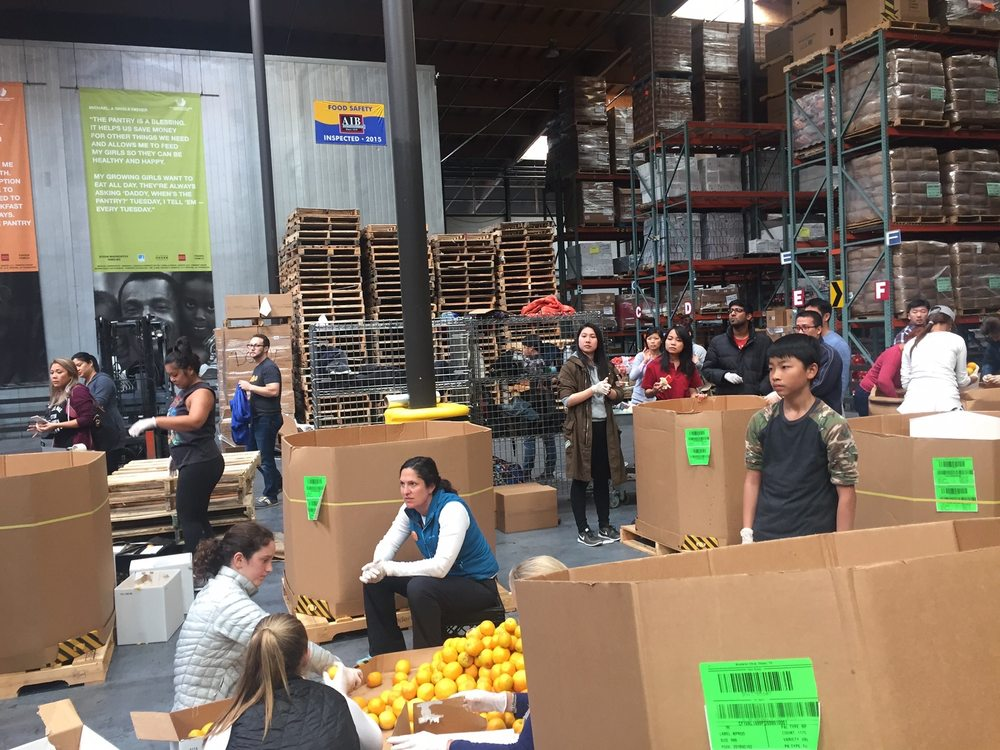 Thanksgiving Donations For Sf Marin Food Bank San Francisco News