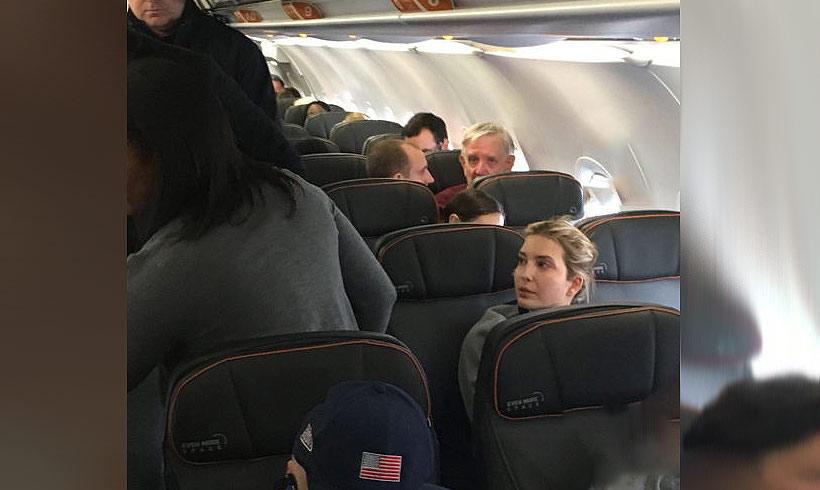 ivanka-trump-jetblue-flight-twitter-foto-photo-t - San