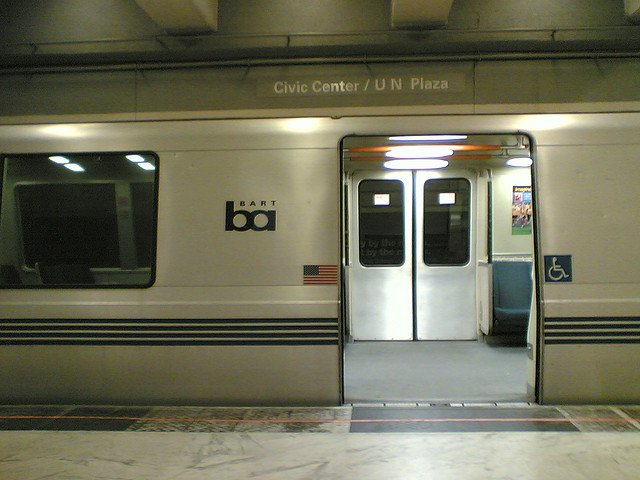 BART Civic Center Station Bomb Threat