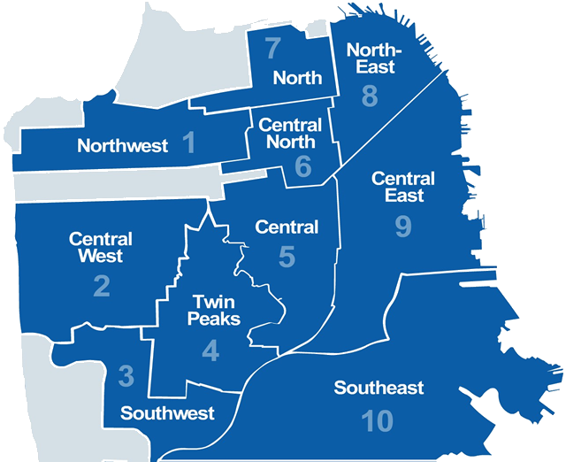 Districts Of San Francisco Map.Assault And Robbery Transpire In Anchorage Alley San Francisco News