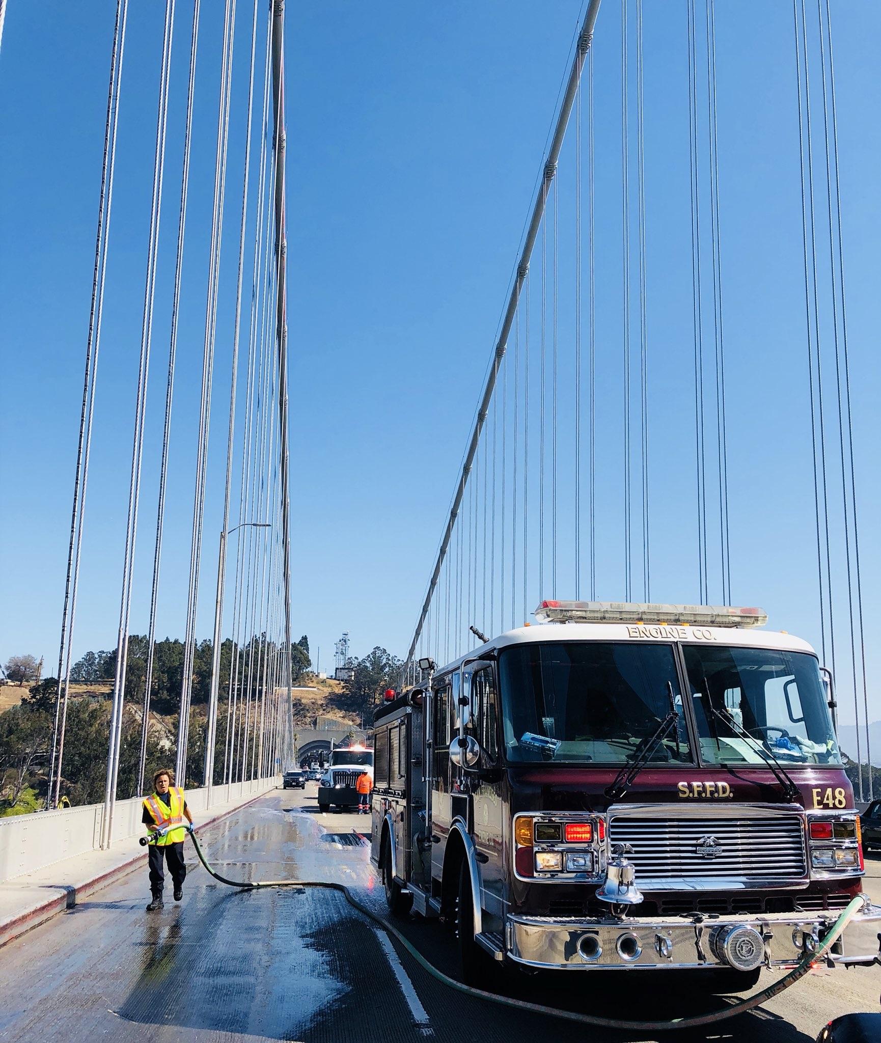 Motorcyclist Killed In Crash On Bay Bridge - San Francisco News