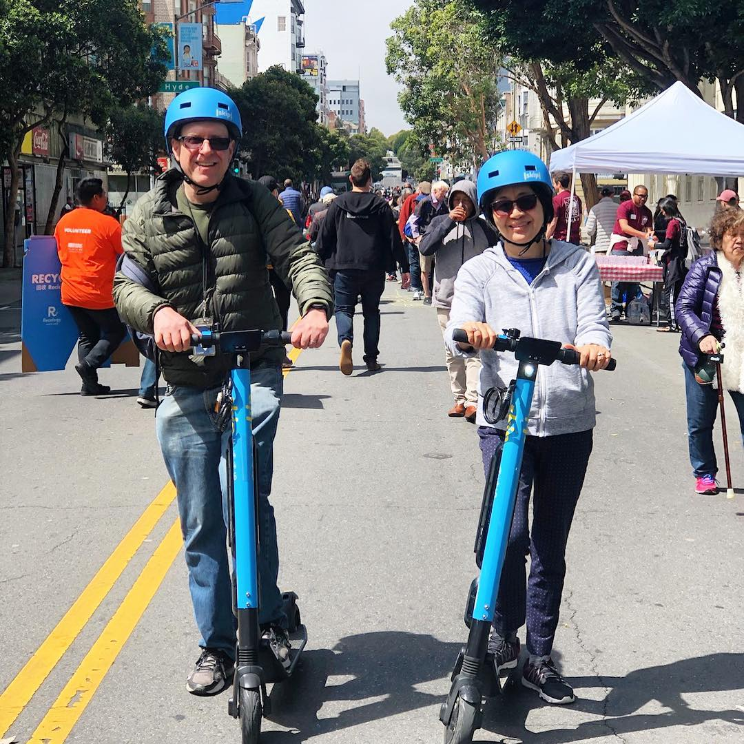 Skip Pulls Scooters Off SF Streets After D C  Fire - San Francisco News