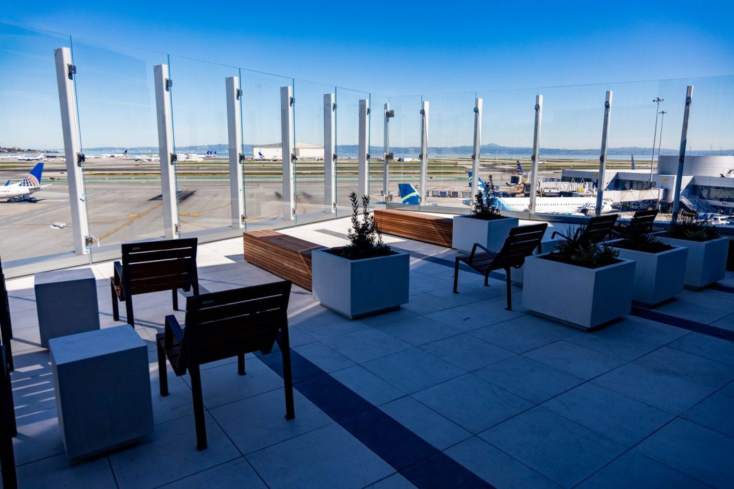 San Francisco Internation Airport will open the new SkyTerrace after being closed for 25 years.