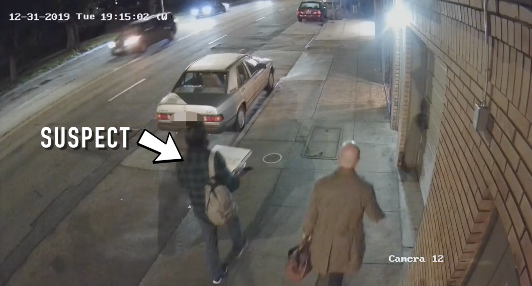 SFPD released video to help identify the suspect and his friend.