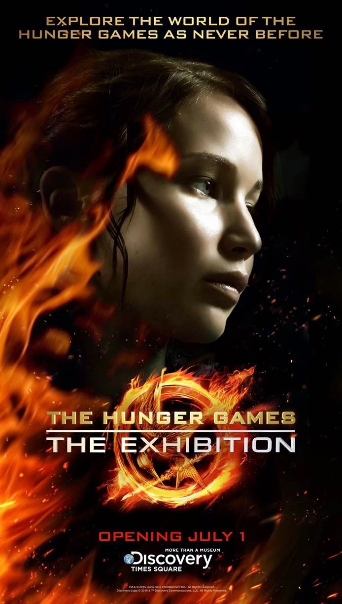 Hunger Games: The Exhibition opens July 1st in New York City