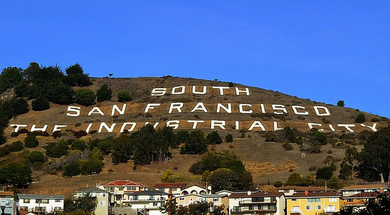 A man was found dead at the bottom of a cliff in South San Francisco. The San Francisco News