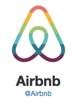 Twitter logo for Airbnb