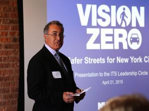 A presentation on Vision Zero in New York