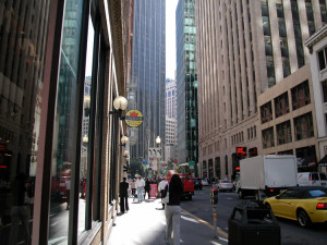 The Financial Districts of the city are one of the areas most targeted by car burglars.
