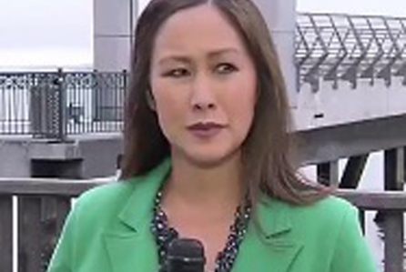Cara Liu was live on camera when the incident happened.