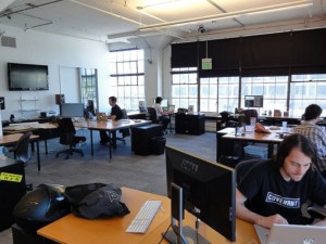Reddit headquarters in San Francisco, where about 70 employees are staffed.
