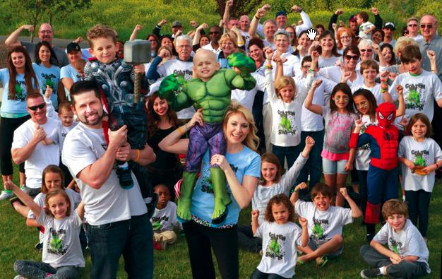 """Colten """"Hulk"""" Guerra at his Superhero Fundraiser to raise money for his neuroblastoma diagnosis.<br>Photo courtesy of Theresa Addison via Facebook"""