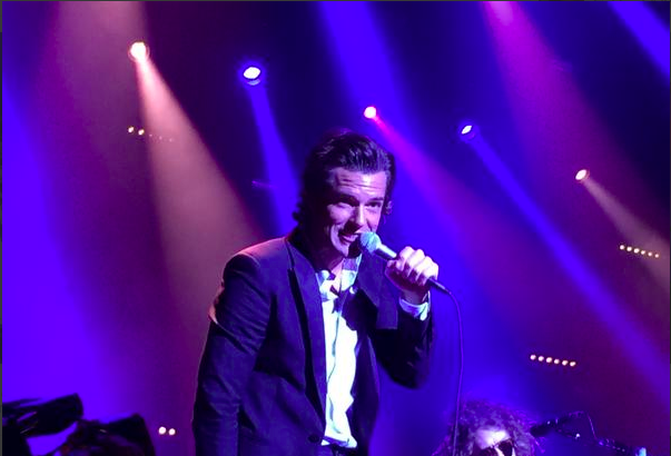 The Killers performing at 2015 Dreamfest. Photo provided by Sue Thacker via Instagram.