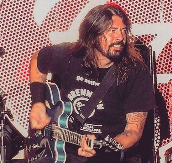 The Foo Fighters, image provided by Pixel Pretzel via Instagram.