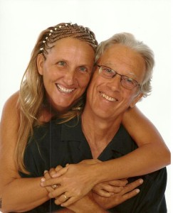Steve Carter and his wife.