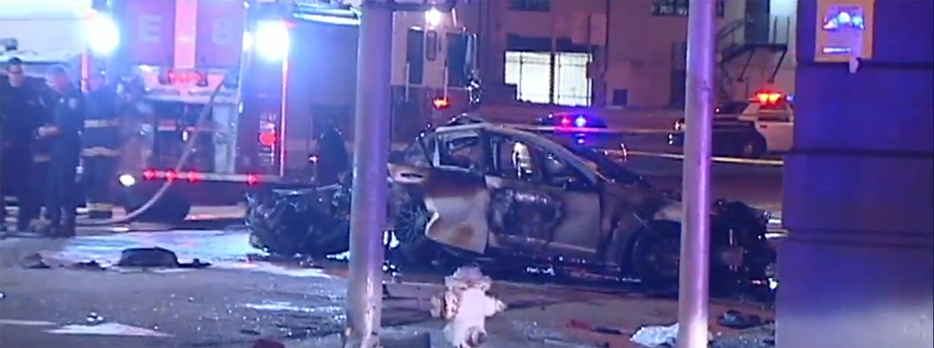 Three people died after a car chase pursuit ensued on Saturday, February 6 in San Francisco. California Highway Patrol officers reported a white Chevrolet driving recklessly around 9:20 p.m. at Fifth and Bryant Street.