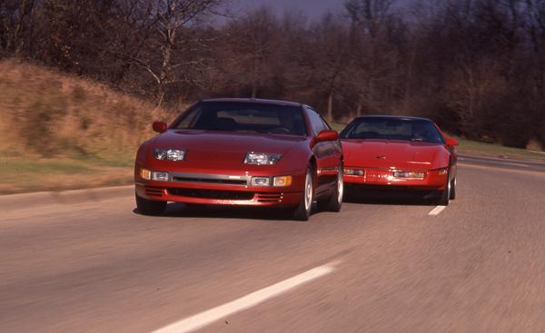 Twin Turbo Z vs Corvette