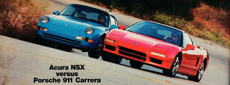 Acura vs Porsche
