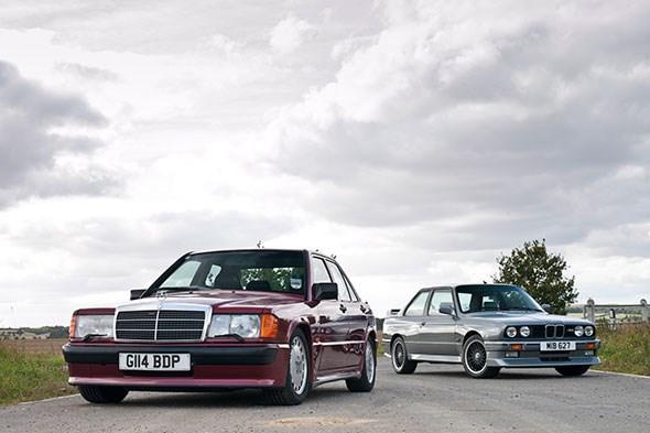 190e Cosworth vs M3