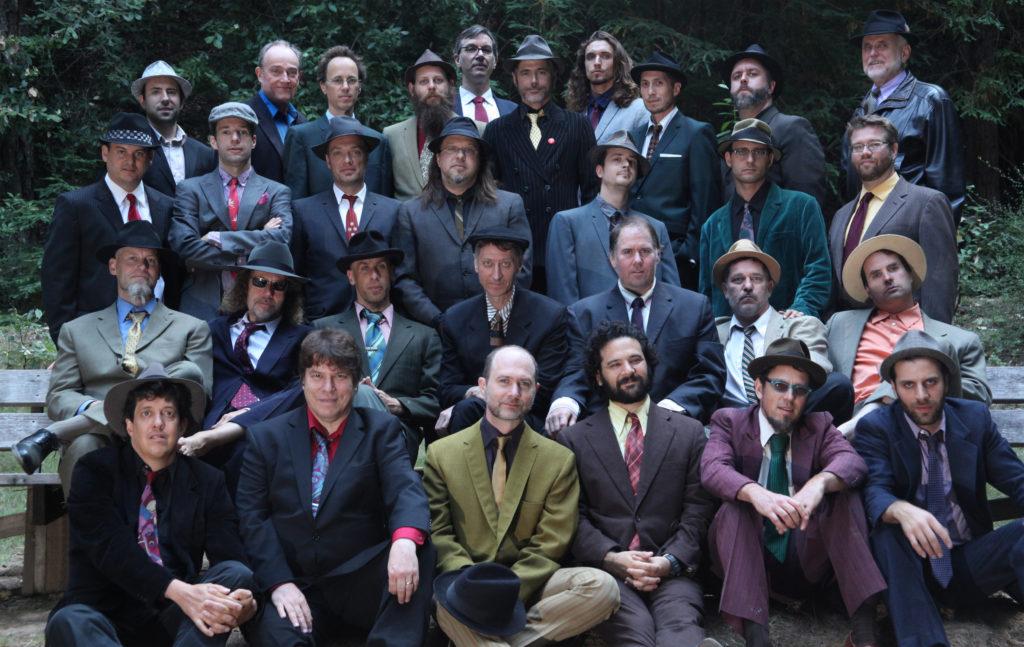 SF's Conspiracy of Beard a cappella group.