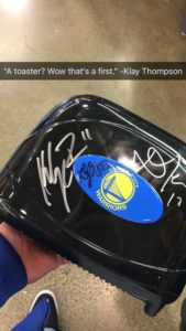 User @RDollaz uploaded this photo of his toaster on Imgur after Thompson signed it