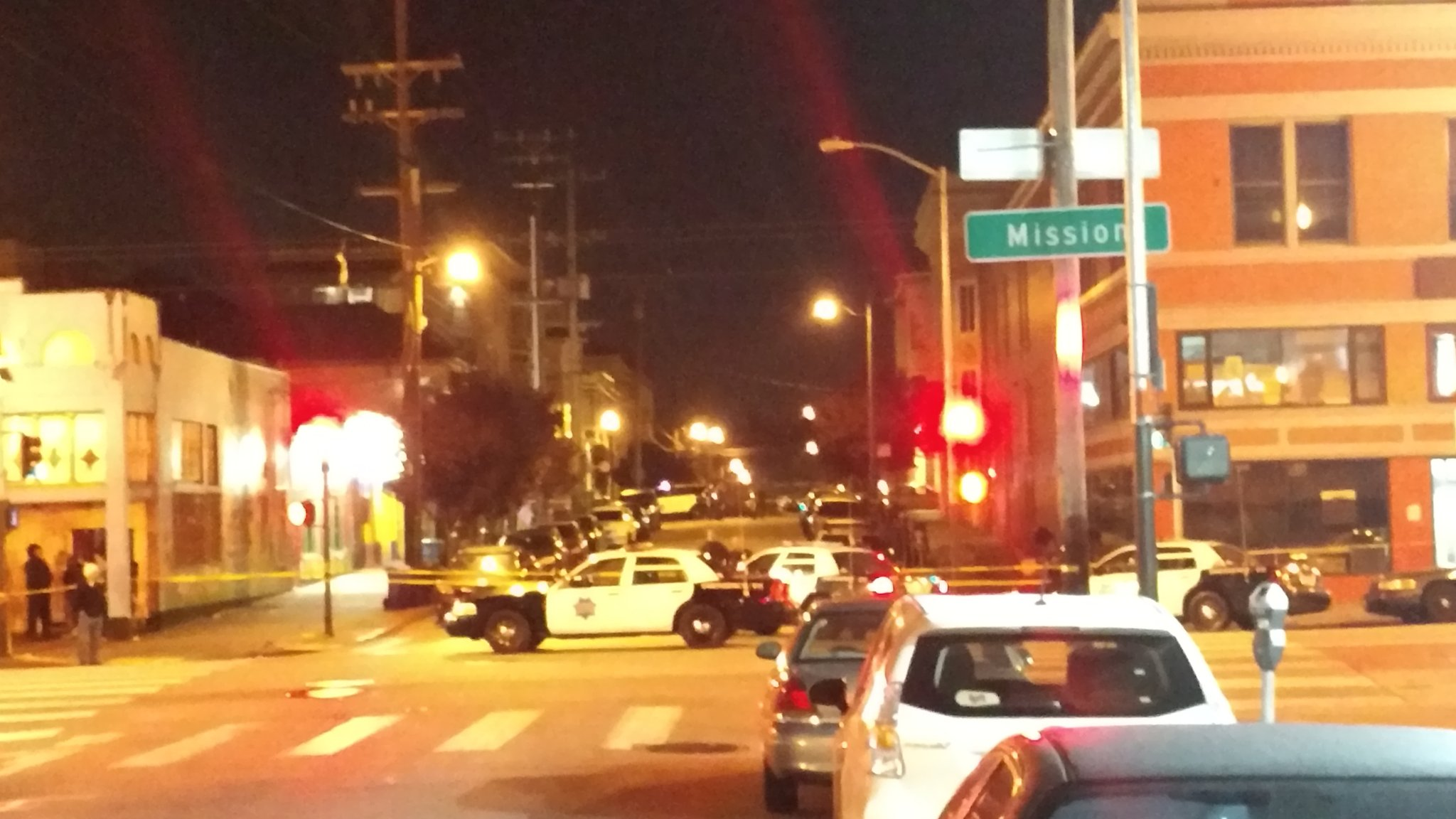 Mission District Shooting Scene
