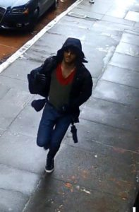 Photo of the suspect released by SFPD.