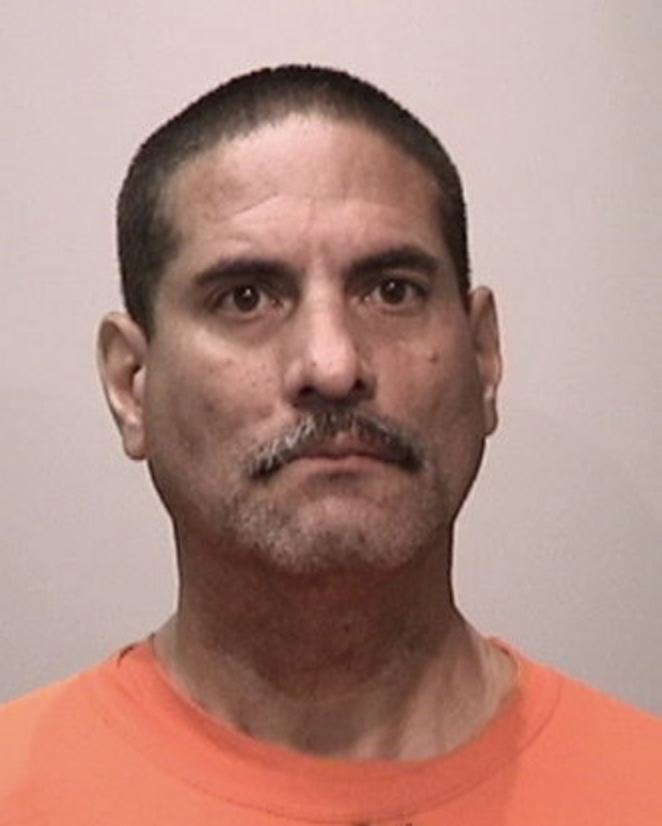 Richard Hector Padilla's booking photo courtesy of SFPD.