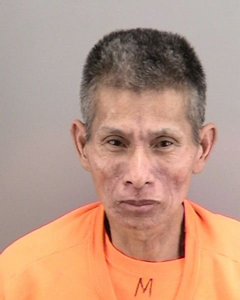 Booking photo of Jingwen Yu courtesy of SFPD.